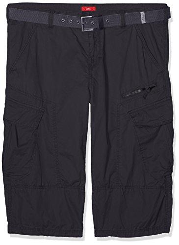 s.Oliver Big Size Herren Shorts 15703745164, Grau (Charcoal 9897), W46