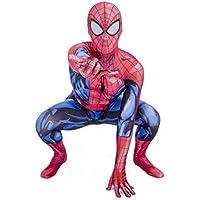 De Lujo Niños Súper Hero Araña (Rojo & Azul, 7-8 años)