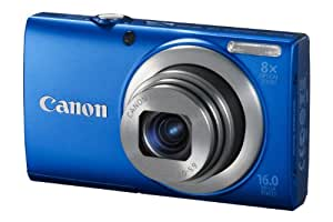 Canon PowerShot A4000 IS Digital Camera - Blue (16.0 MP, 8x Optical Zoom) 3.0 inch LCD