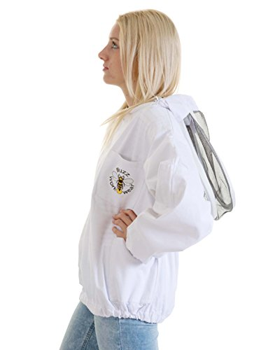 Buzz Workwear Beekeepers Tunic with fencing/astronaut veil -2XL 5