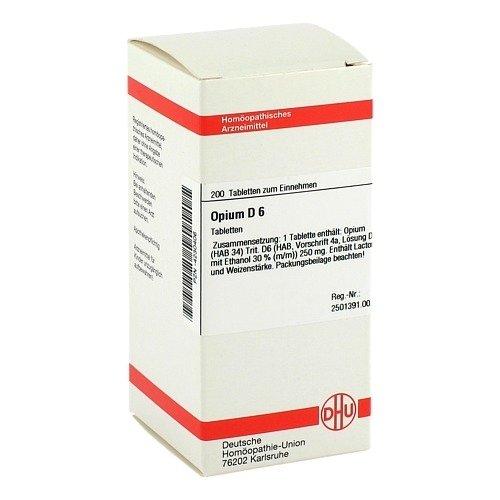 OPIUM D 6 Tabletten 200 St
