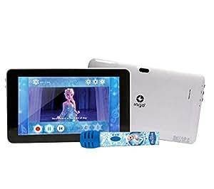 Disney - Reine des Neiges - Tablette 7`` avec micro karaoké + Violetta - Pack accessoires pour tablette
