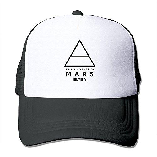 hittings-camiseta-30-seconds-to-mars-logo-mesh-hats-cool-and-fashionable-design-with-the-popular-ide