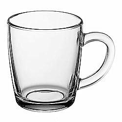 "Pasabahce 55531 - Trinkgläser, Teeglas Mit Henkel ""Basic"", 6er Set"