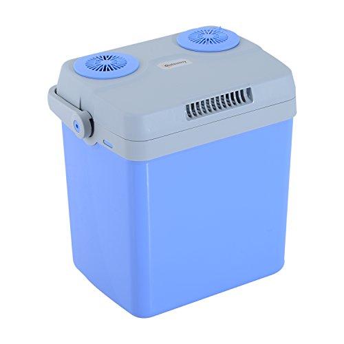 Outsunny 32L 12V/240V Cool Box KFZ Tragbare Kühltasche/Heizung DC/AC Adapter Outdoor Camping Reisen Power Box Elektro-heizungen Tragbare