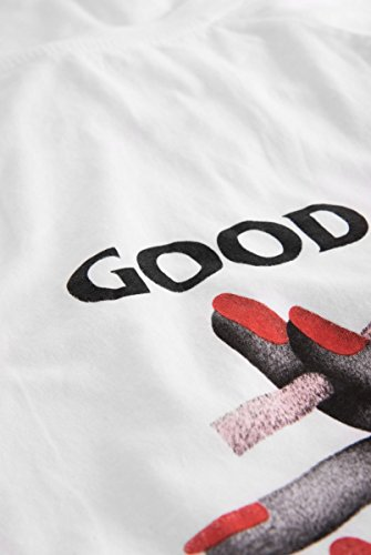 Wood Wood Herren Sweatshirt Han Long Sleeve Weiß