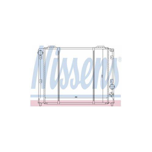 Preisvergleich Produktbild Nissens 60051 Kühler, Motorkühlung