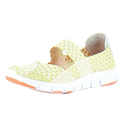 Heavenly Feet  Heavenly Feet Lollipop Gold Beige Shoes,  Damen Kurzschaft Stiefel Gold