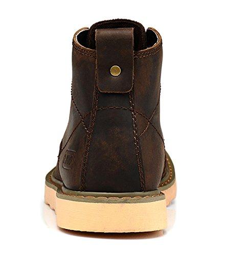 Insun ,  Herren Chukka Boots Crazy Horse Brown
