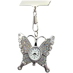Butterfly Fob Watch Great Midwife Nurse Gift Present