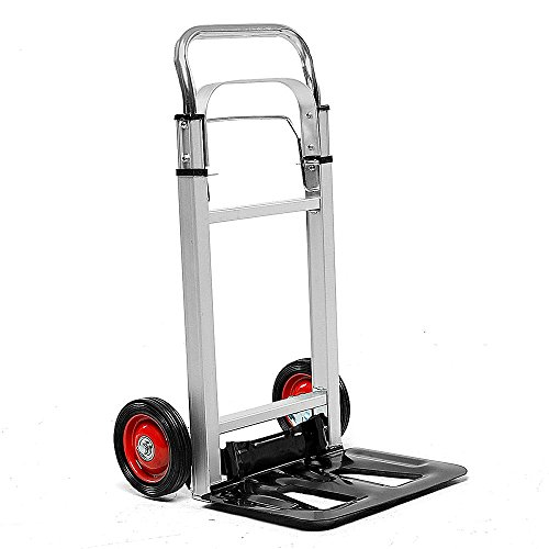 Gerät Laptop Cart (Xsj Portable Cart Faltbare Wagen Aluminium Hand LKW Trolley Cargo Gepäckwagen Shopping)
