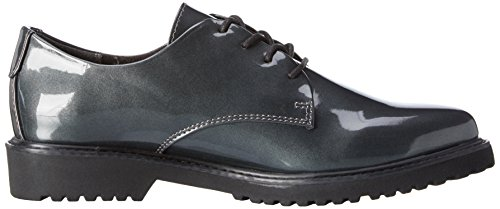 Marco Tozzi 23712, Derby femme Argent (PEWTER PATENT 914)