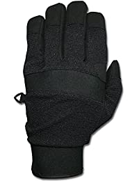 """Fingerhandschuhe, """"Security"""" Neopren, Schnittschutz, schwarz"""