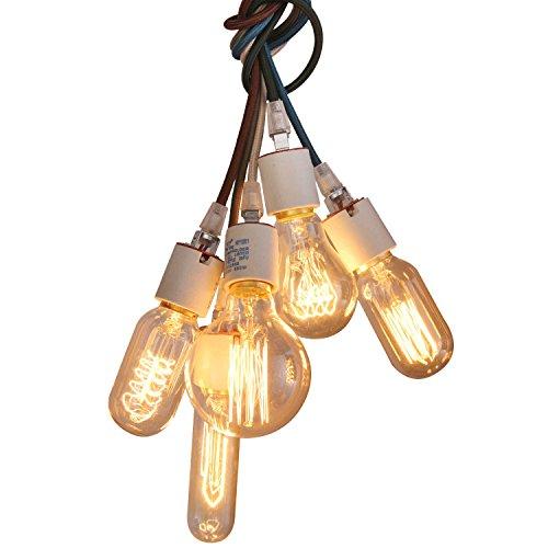 Unitary BRAND Suspension Lampe Incandescence Moderne E27 5x40w (Ampoule Inclus)