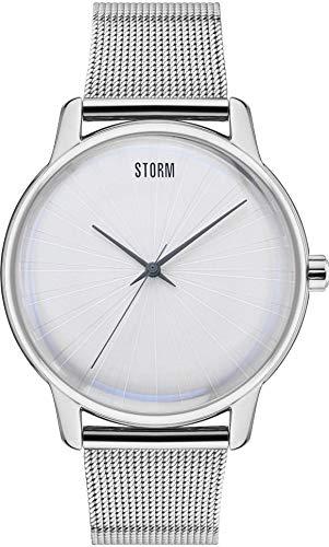 Storm London SOLAREX Silver 47403/S Reloj de Pulsera para Hombres