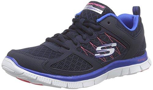 Skechers - Flex Appealepicenter, Scarpe da ginnastica Donna Blu (Blau (NVBL))