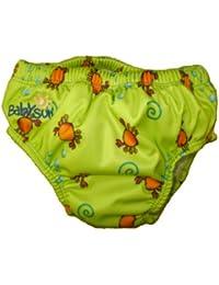 Babysun Maillots de Bain anti fuites  3-6 mois vert