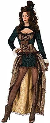 Madame Steampunk Corset Adult Costume