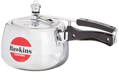 HAWKINS CONTURA PRESSURE COOKER 3 LTR  available at amazon for Rs.1279