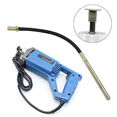 800 W elektrischer Handbetonrüttler Vibrating Needle Pervibrator Vibrator mit Ø 35 mm Vibrant Poker 1,2 M 220 V