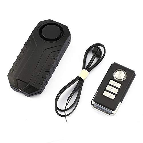 113dB Wireless Motorrad/Fahrrad/Fahrrad Diebstahl Alarmanlage, Alarmschloss Diebstahlschutz mit Fernbedienung
