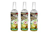 Herbo Pest MosFree 200ml Herbal Mosquito Repellent Room Spray Bottle : Pack of 3
