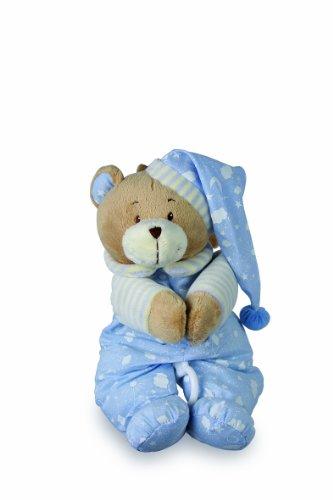 """Spieluhr """"Nils"""" zum Kuscheln und Einschlafen, der musikalische Teddy ist besonders weich und flauschig, als Einschlafhilfe oder Spielzeug, zum Aufhängen am Bettchen oder Kinderwagen"""
