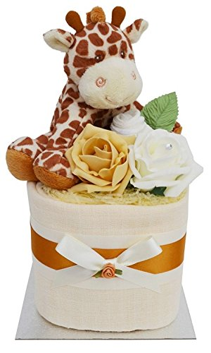 gorgeous-unisex-giraffe-themed-square-mini-new-baby-nappy-cake-baby-shower-gift-with-free-uk-deliver