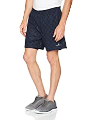Ronhill hombres del Impulso Twin pantalones cortos, hombre, color Hex Print/Cobalt, tamaño X-Large/5-Inch
