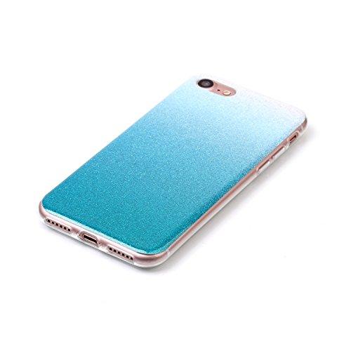 JIALUN-Telefon Fall IPhone 7 Fall, Farbverlaufsmuster Ultradünne TPU Rückseitige Abdeckung Weicher Fall Für Apple IPhone 7 ( Color : F , Size : IPhone7 ) M