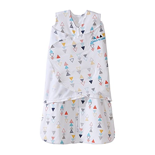 Halo Sleep Baby Baumwolle Multi Triangle Print Swaddle (3 bis 6 Monate, klein)