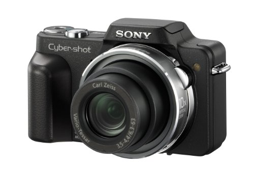 "Sony DSC-H3B Digitalkamera (8 Megapixel, 10-fach opt. Zoom, 2,5"" Display, Bildstabilisator) in schwarz"
