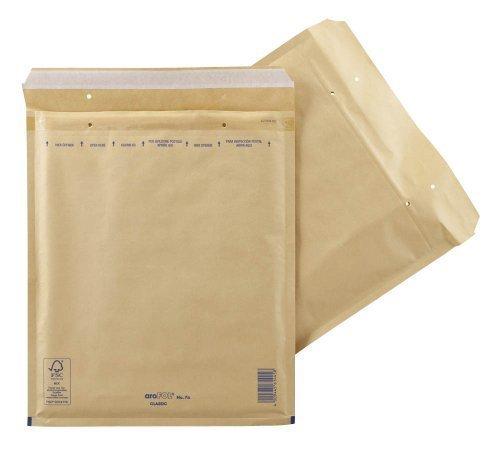 Preisvergleich Produktbild aroFOL® CLASSIC Luftpolster-Versandtaschen braun Innenmaße 28,0 x 34,0 cm (BxH)