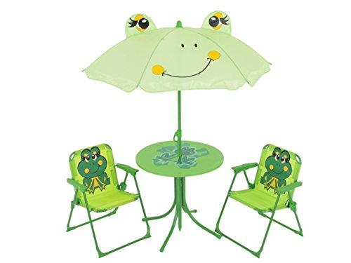 Sonnenschirm Tisch Set (Dajar Gartenmöbel-Sets Frosch, grün)