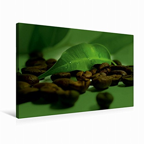 Premium Textil-Leinwand 75 cm x 50 cm quer Kaffee Impression | Wandbild, Bild auf Keilrahmen, Fertigbild auf echter Leinwand, Leinwanddruck (CALVENDO Lifestyle) (Kaffee-haus-sammlung)