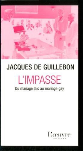 L'impasse du mariage laïc au mariage gay