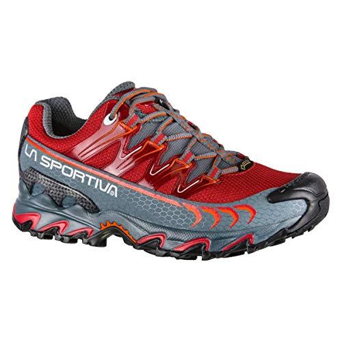 La Sportiva Ultra Raptor Woman GTX, Scarpe da Trail Running Donna, Multicolore (Rosso Granata/Ardesia 000), 38 EU