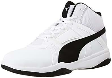 Puma Men's Rebound Street Evo Sl Idp Puma White and Puma Black Sneakers - 6 UK/India (39 EU)