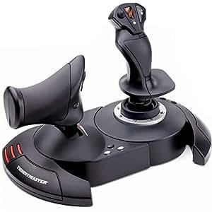 Thrustmaster - Joystick T.Flight Hotas X - Joystick avec manette des gaz détachable et configuration directe pour décollage immédiat - PC