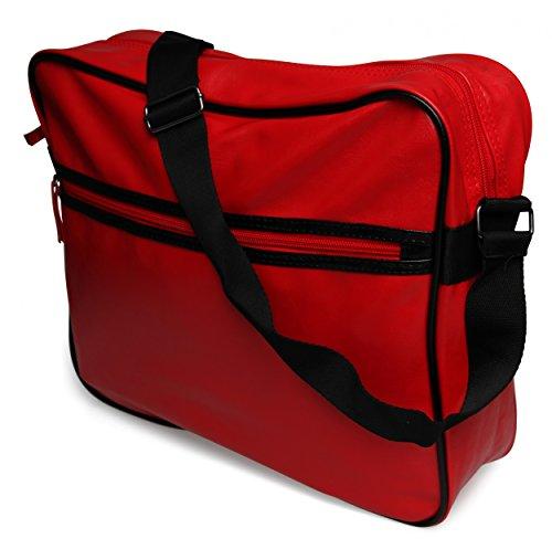 styleBREAKER, Borsa a tracolla donna Rosso (rosso)