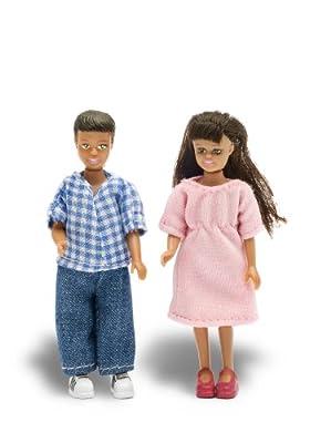 Lundby 60.9017.00 - Niño y niña Stockholm para casa de muñecas [importado de Alemania] por Lundby