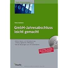GmbH-Jahresabschluß leicht gemacht: Die Soforthilfe beim GmbH-Jahresabschluss