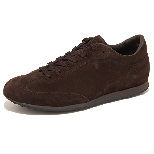 7853N sneaker TOD'S ALLACCIATO marrone scarpe uomo shoes men [5]