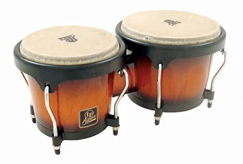 Latin Percussion LP810508 Aspire Wood Bongos - Vintage Sunburst