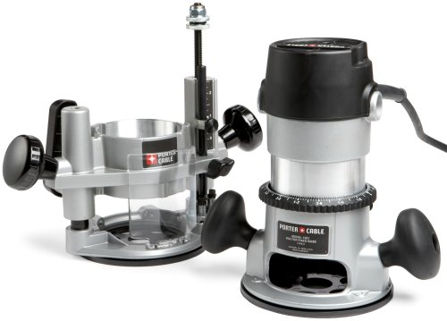 PORTER-CABLE 693LRPK 1-3/4 HP Fixed Router and Plunge Base Kit