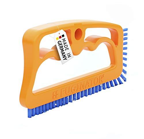 Fuginator® Fugenbürste orange/blau – Bürste zur Fugenreinigung in Bad, Küche und Haushalt, patentiertes Design