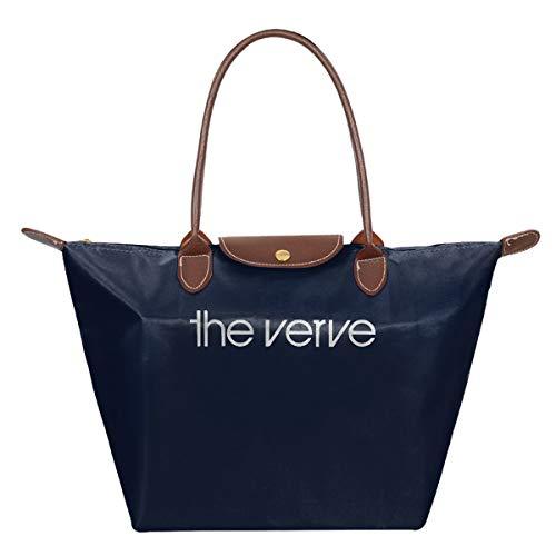 The Verve Top Logo Brit Pop Rock Richard Ashcroft Forth Wasserdichte Leder Gefaltete Messenger Nylon Tasche Reisetasche Hopping faltbar Schule Handtaschen