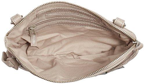 Amsterdam Cowboys - Bag Tiverton, Borsa a tracolla Donna Beige (Beige (Chalk 203))