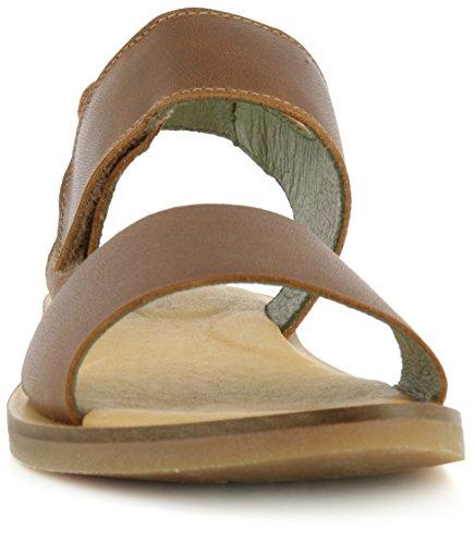 EL NATURALISTA NF30 TULIP wood marrone sandali donna strappo fascia Marrone