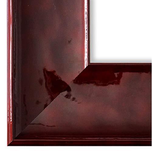 Online Galerie Bingold Bilderrahmen Rot Lack DINA3(29,7x42,0) - DIN A3 (29,7 x 42,0 cm) - Modern, Retro, Vintage, Shabby - Alle Größen - handgefertigt in Deutschland - WRP - Taranto 7,5 -